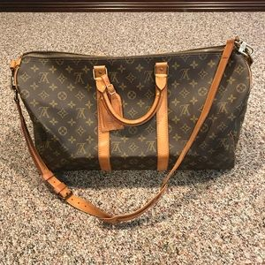 Vintage 1989 Luis Vuitton Keepall Bandouliere 50